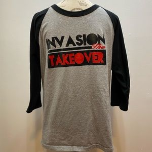 Invasion the takeover shirt
